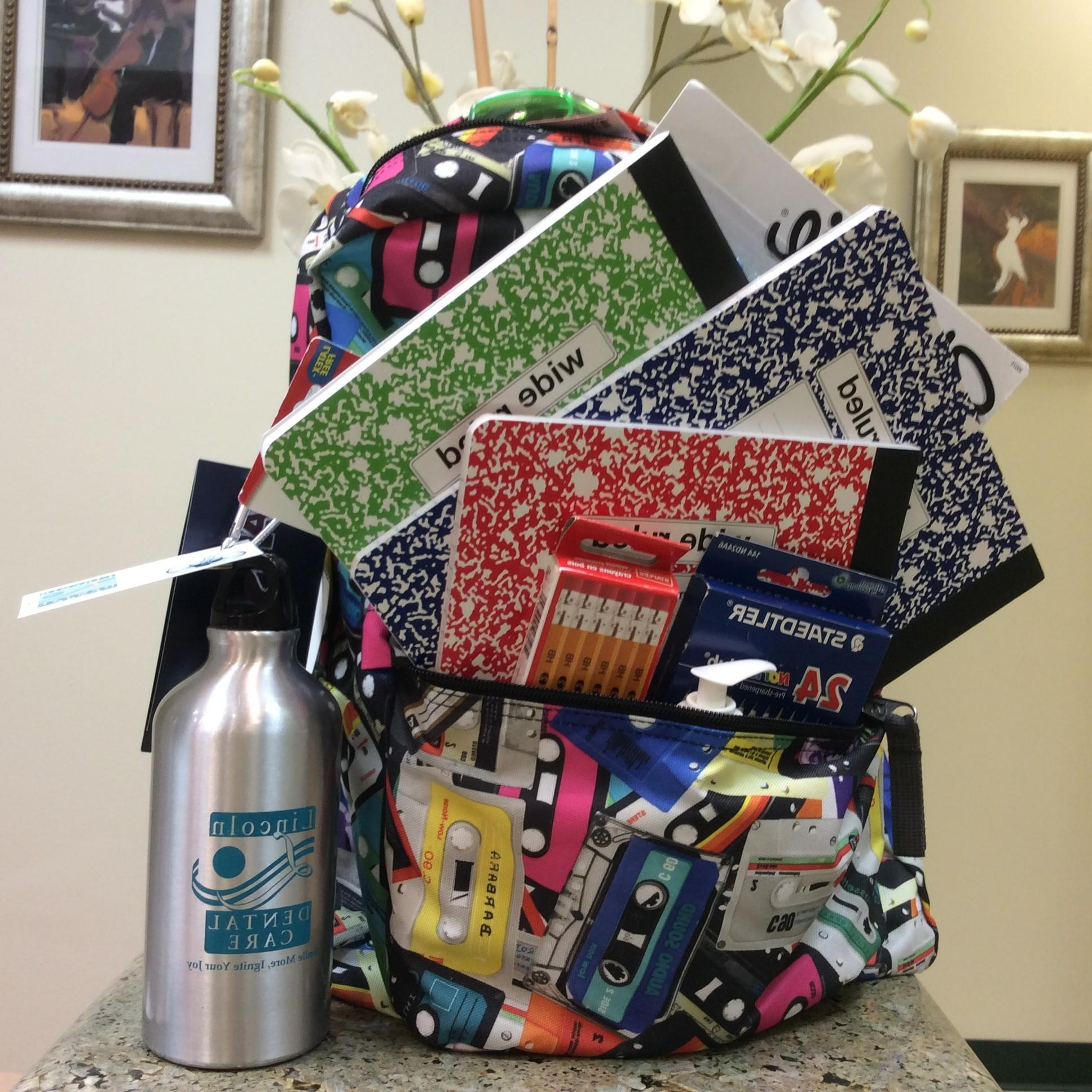 Win This Backpack Filled With School Supplies – One Less ...